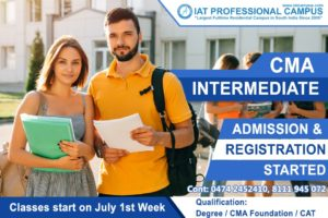 CMA Intermediate July Batch 2019