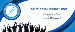 CAT WINNERS JANUARY 2020