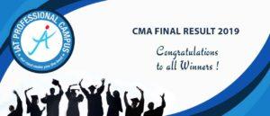 CMA FINAL RESULT 2019
