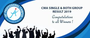 CMA INTERMEDIATE SINGLE & BOTH GROUP RESULT 2019